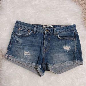 Zara Woman Premium Denim Jean Shorts